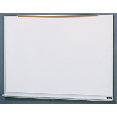 Claridge Products Wall Mounted Whiteboard, 4' x 6'