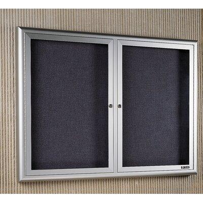 Claridge Products Classic Series Bulletin Board Cabinet