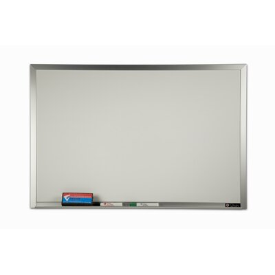 Claridge Products TrimLine Wall Mounted Whiteboard, 4' x 6'