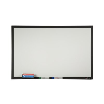 Claridge Products TrimLine Plus Wall Mounted Magnetic Whiteboard, 4' x 6'