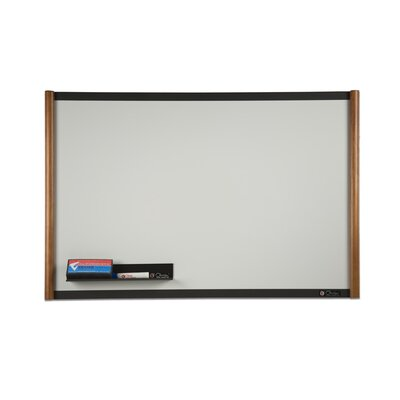 Claridge Products TrimLine Elite Wall Mounted Magnetic Whiteboard, 3' x 4'
