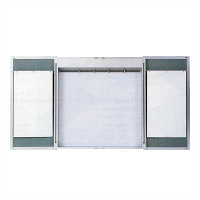 Claridge Products Premiere Cabinet Lecture Unit Enclosed Chalkboard