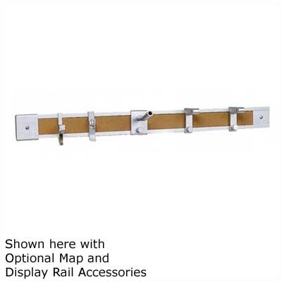 Claridge Products No. 74 Deluxe Map and Display Rail