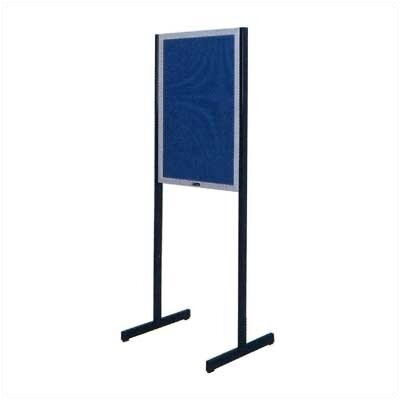 Claridge Products No. 567 Double-Sided Open Face Directory Free Standing Bulletin board, 3' x 2'