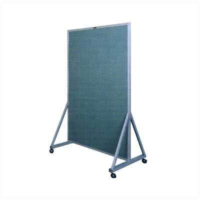 Claridge Products Multi-Use Divider Free Standing Reversible Bulletin Board