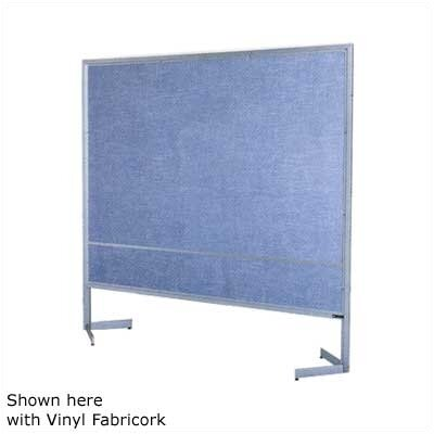 Claridge Products Premiere Portable Space Divider with White Markerboard