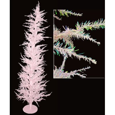 Whimsical 5' Pink Laser Artificial Christmas Tree by Vickerman