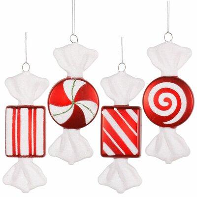Vickerman Co. Candy Christmas Ornament Set