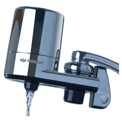 F-5C Chrome Faucet Mount Water Filter System Product Photo