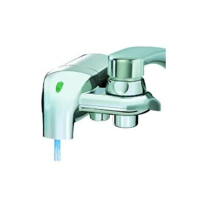 InstaPure F-8C Chrome Faucet Mount Water Filter System