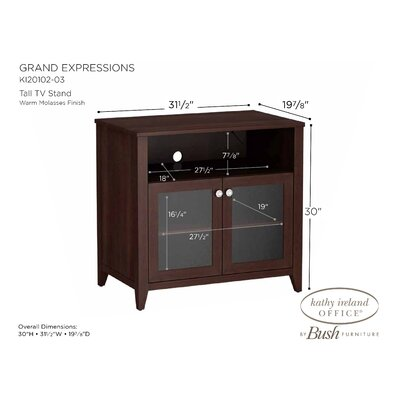 Kathy Ireland Office by Bush Grand Expressions TV Stand