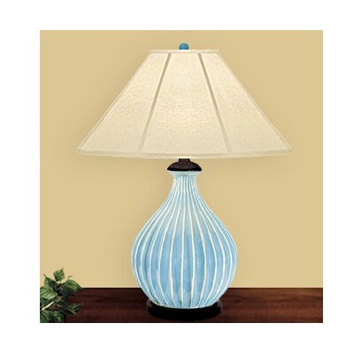JB Hirsch Home Decor Spring Table Lamp with Empire Shade