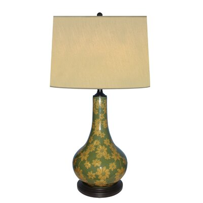 """JB Hirsch Home Decor Daisy 31"""" H Table Lamp with Drum Shade"""