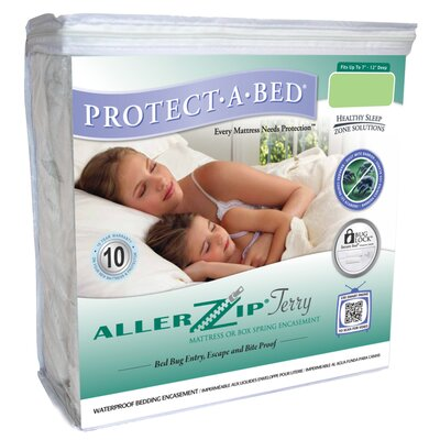 Protect-A-Bed Aller Zip Anti-Allergy and Bed Bug Proof Mattress Encasement