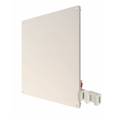 Econo-Heat 400 Watt Wall Mounted Electric Convection Panel Heater with Programmable Thermostat