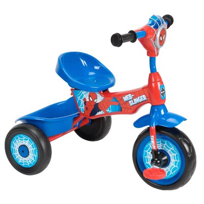 Huffy Marvel Spider-Man Lights and Sounds Folding Tricycle Tricycle 29645