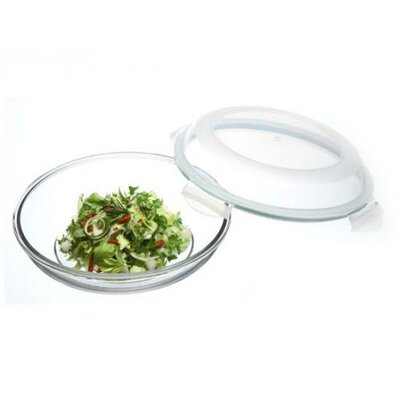 Go Green Plus Oven Safe 27-Ounce Round Food Storage Container, Large by Kinetic