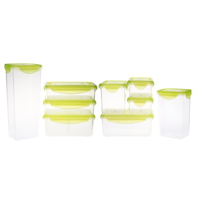 Kinetic Fresh 18 Piece Plastic Food Storage Container Set