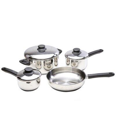 Kinetic Kitchen Basics 5-1/2-Quart Stainless Steel Covered Dutch Oven