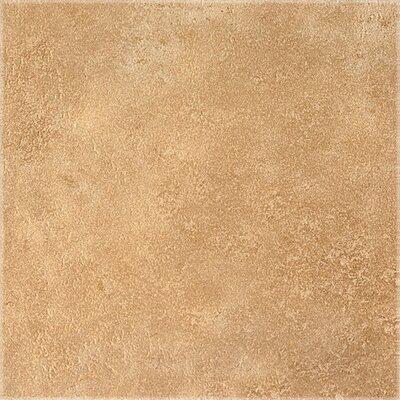 "Congoleum DuraCeramic Earthpath 16"" x 16"" x 4.06mm Luxury Vinyl Tile in Golden Clay"
