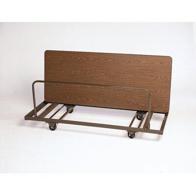 Correll, Inc. Rectangular Edge Stacking Table Dolly