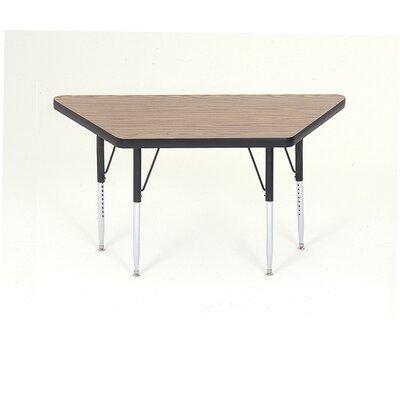 "Correll, Inc. 60"" x 30"" Trapezoidal Classroom Table"