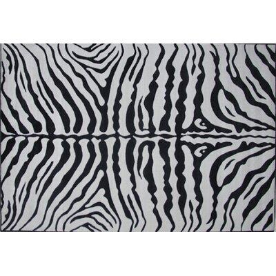 Supreme Zebra Skin Kids Rug by Fun Rugs