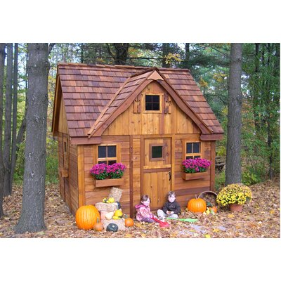 Outdoor Living Today Laurens Cottage with 4 Functional Windows and Dutch Door