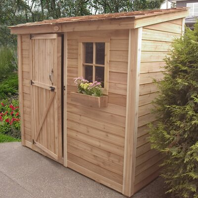 Outdoor Living Today SpaceSaver 9 Ft. W x 5 Ft. D Wood Lean-To Shed