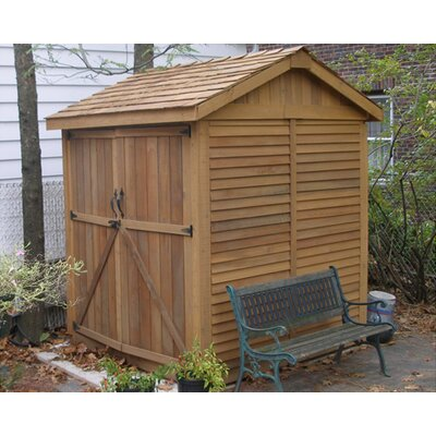 Outdoor Living Today Maximizer 6 Ft W X 6 Ft D Wood Storage Shed Revi