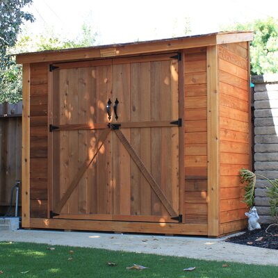 Outdoor Living Today SpaceSaver 8.5 Ft. W x 4.5 Ft. D Wood Lean-To Shed