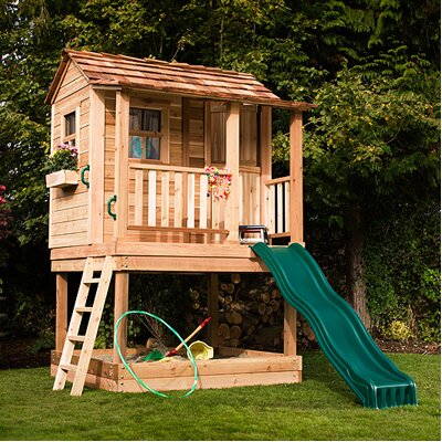 Little Squirt Playhouse with Sandbox Product Photo