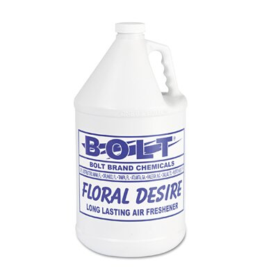 Bolt 1 Gallon Liquid Deodorizer Floral Bottle