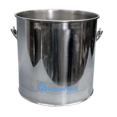 Geerpres® Stainless Steel 8 Gallon Round Mop Bucket without Casters