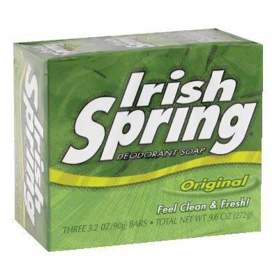 IRISH SPRING® Personal Deodorant Soap - 3.2 OZ / 24 per Case