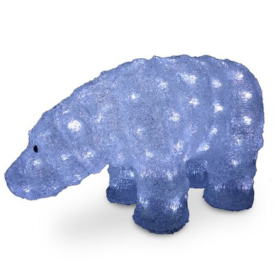 Acrylic Son Bear Christmas Decoration by National Tree Co.