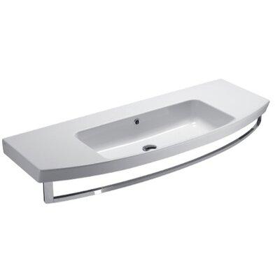 GSI Collection Modo Contemporary Design Curved Bathroom Sink