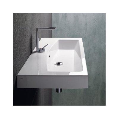GSI Collection Losagna Stylish Rectangular Ceramic Bathroom Sink