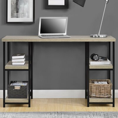 Altra Elmwood Double Pedestal Desk, Sonoma Oak & Reviews | Wayfair