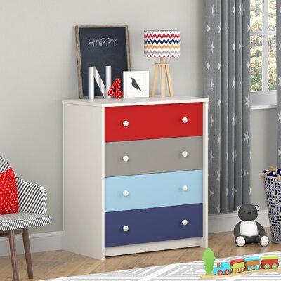 Kaleidoscope 4 Drawer Dresser by Altra