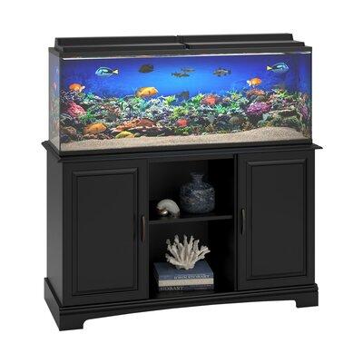 Altra harbor 50 75 gallon aquarium stand reviews wayfair for 10 gallon fish tank stand
