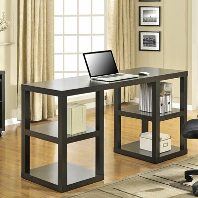 Altra Furniture Parsons Writing Desk with 4 Shelves