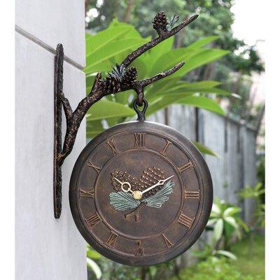 Hlett Wall Clock by Loon Peak