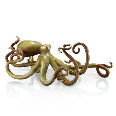 Octopus Statue by SPI Home