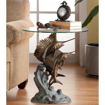 Marlin and Sailfish End Table by SPI Home