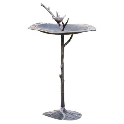 SPI Home Bird on Branch Sundial/Bird Statue
