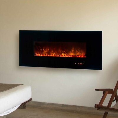 Modern Flames Dream Flame Wall Mount Linear Electric Fireplace Reviews Wayfair