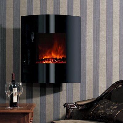 Dream Flame Helix Convex Electric Fireplace by Modern Flames
