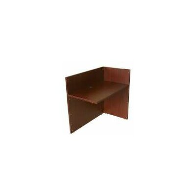 "Boss Office Products Reception 42"" Desk Return"