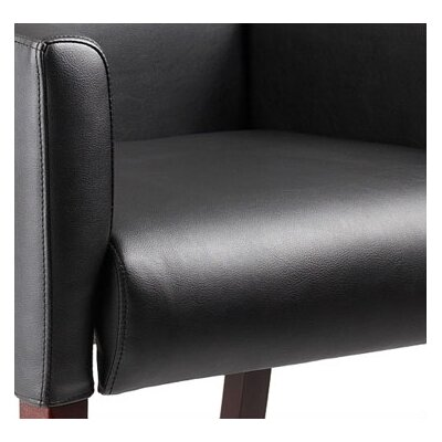 Boss Office Products Reception Box Arm Guest Chair